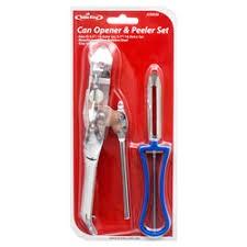 Can Opener & Peeler Set