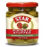 Star Pimiento Stuffed Manzanilla Olives 3oz