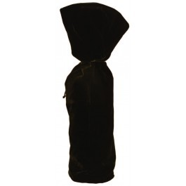 Black Velvet Wine Bag