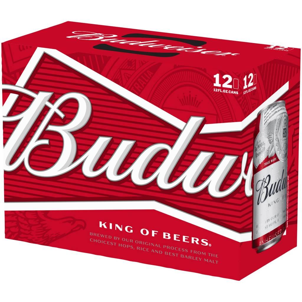 Budweiser 12oz 12Pk Cans