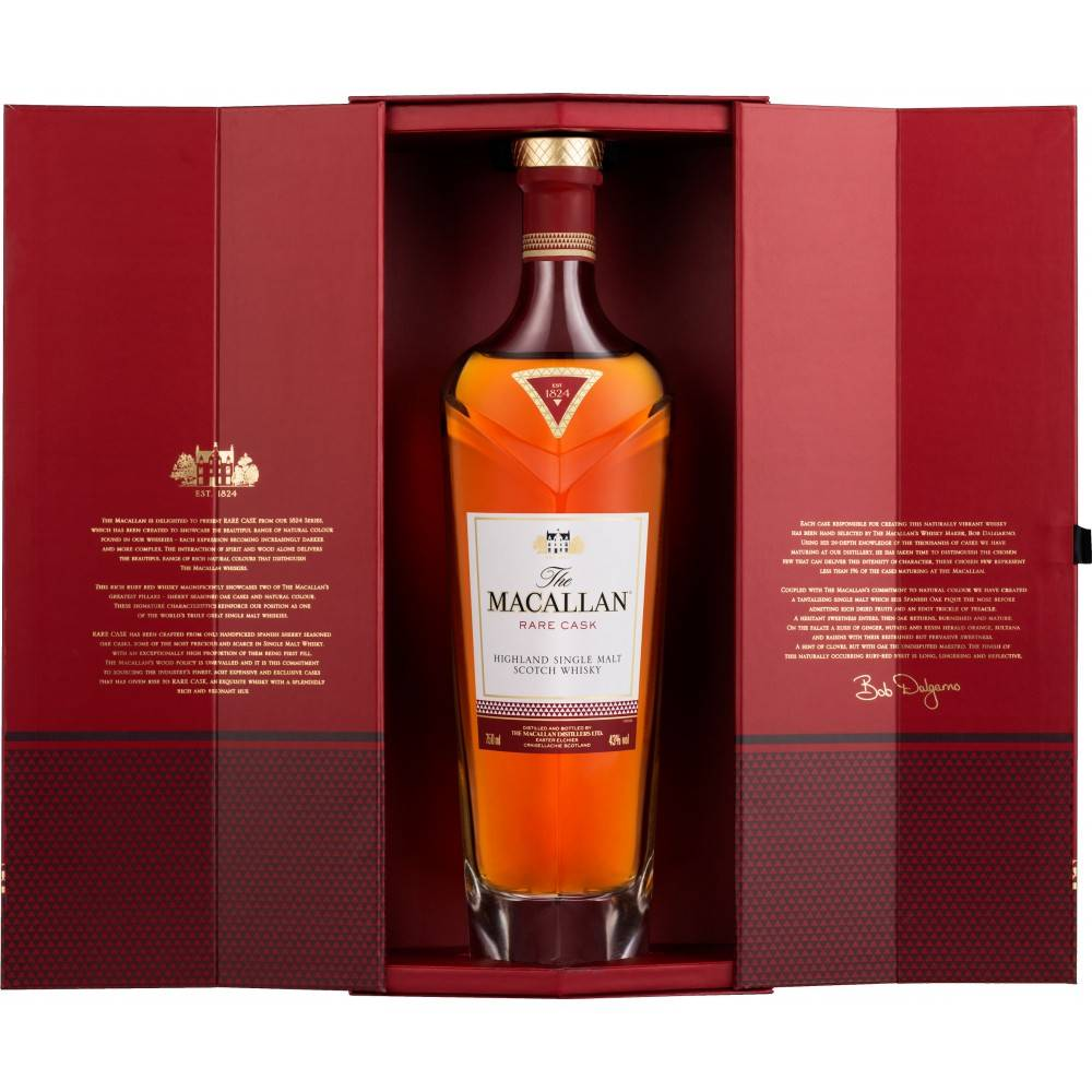 The Macallan Rare Cask Highland Single Malt Scotch Whisky 750ml