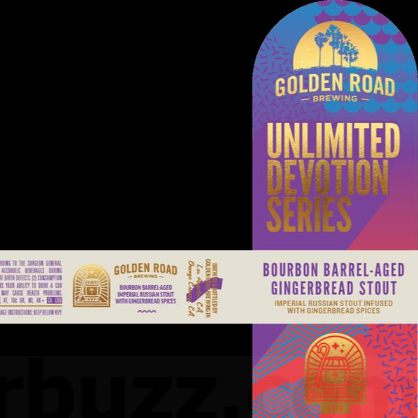 Golden Road Unlimited Devotion Series Bourbon Barrel-Aged Gingerbread Stout 750ml