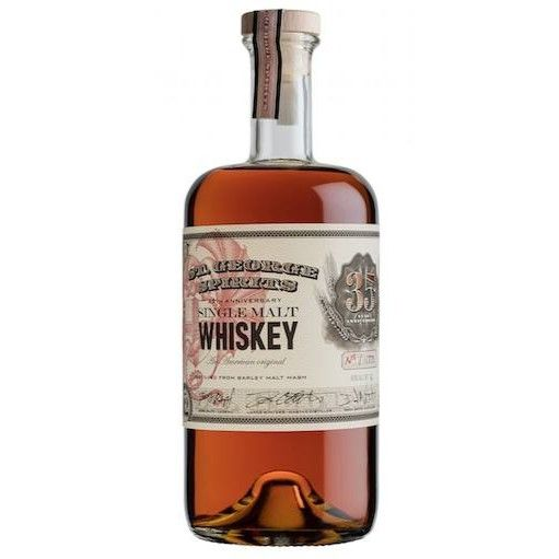 St. George 35th Anniversary Single Malt Whiskey 750ml