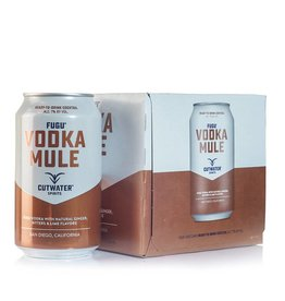 Cutwater Spirits Vodka Mule 12oz 4Pk Cans