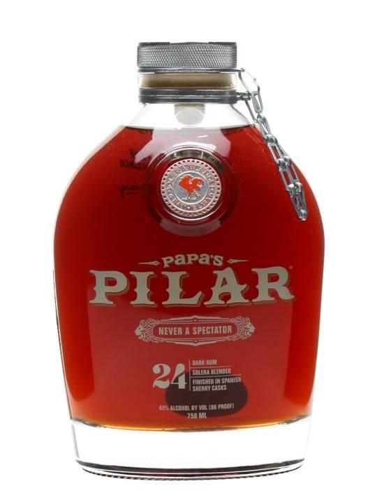 Papa's Pilar Dark Rum 750ml