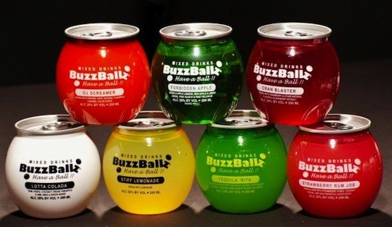 BuzzBallz 200 ml Peach