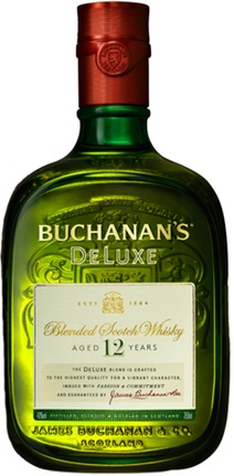 Buchanan's De Luxe 12yr Blended Scotch
