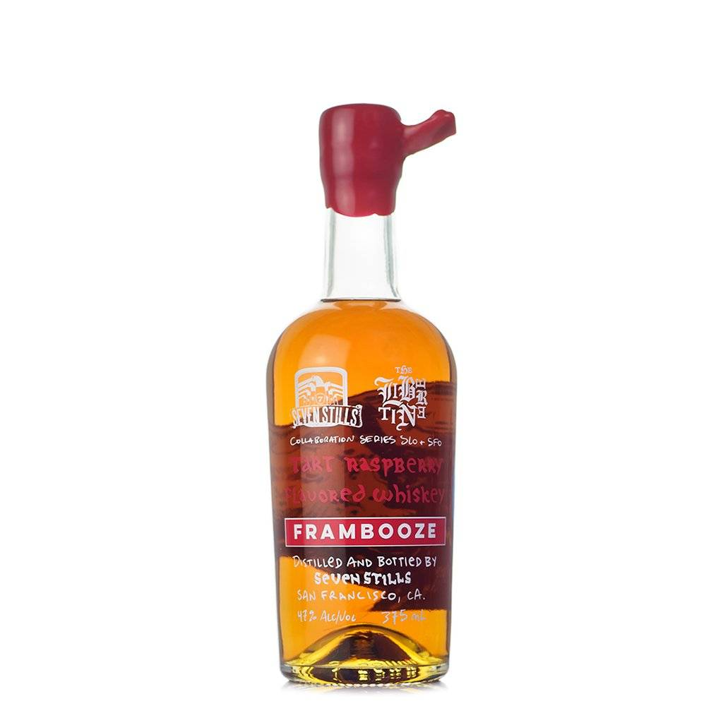 Seven Stills Frambooze Tart Raspberry Flavored Whiskey 375ml