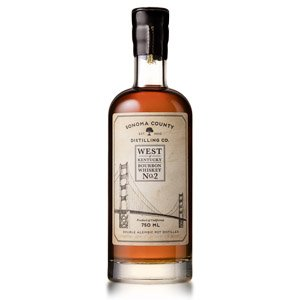 Sonoma County Distilling Co. Bourbon Whiskey No.2 Wheated Cask Strength 750ml
