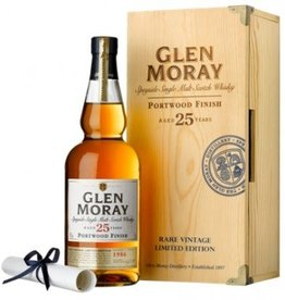 Glen Moray 25Yrs. Speyside Single Malt Scotch Whisky Port Cask Finish 750ml