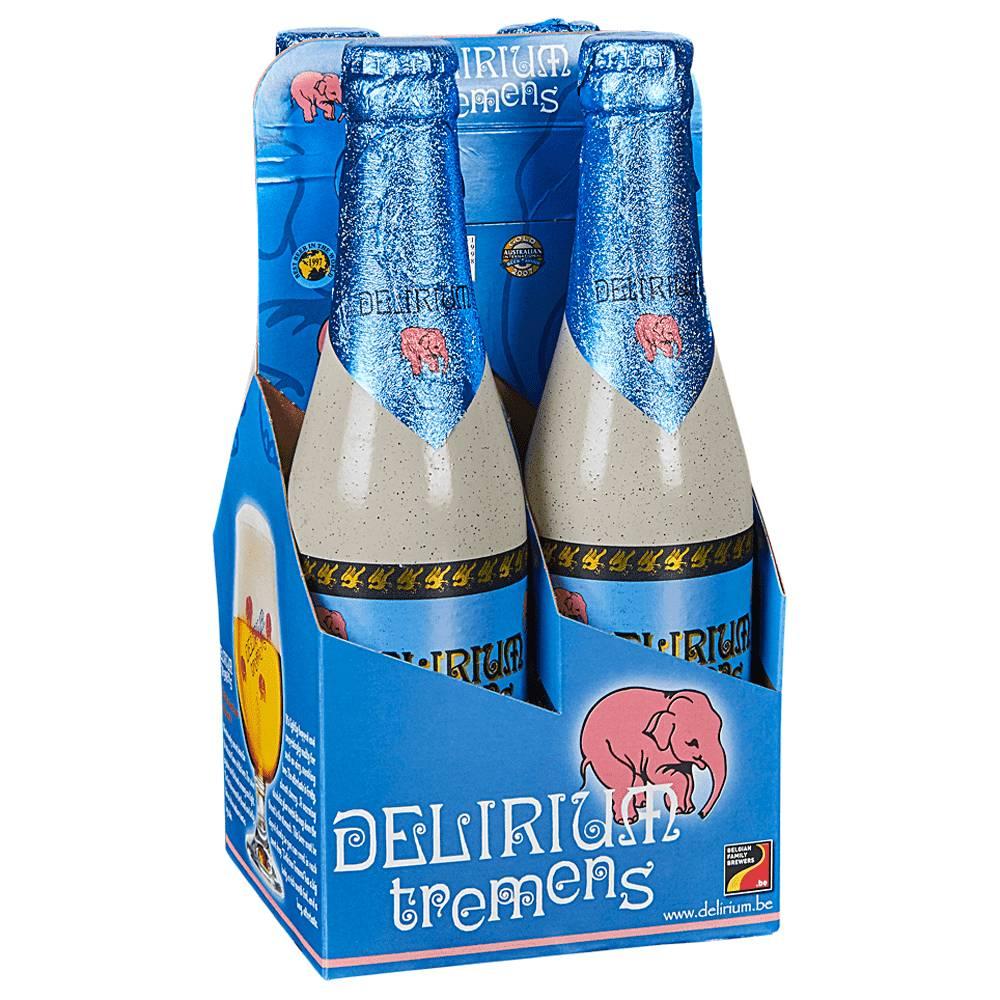 Delirium Tremens Strong Blonde Ale 12oz 4Pk Btls