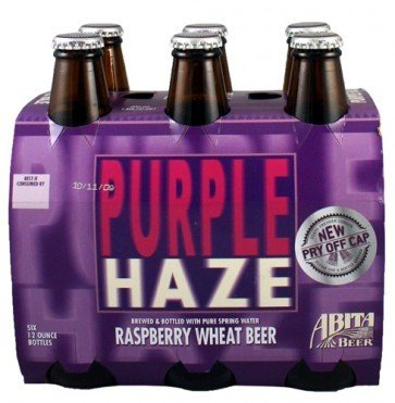 Abita Purple Haze Raspberry Lager 12oz 6pk Btls