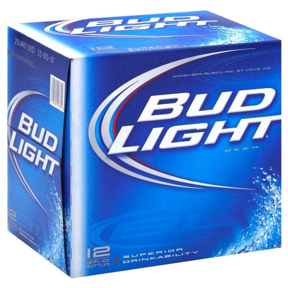 Bud Light 16oz Alm Btl 12Pk