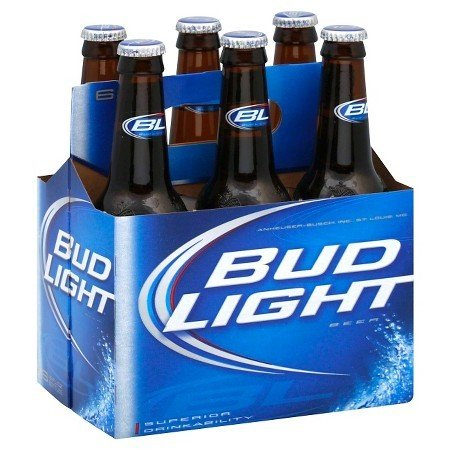 Bud Light 12oz 6Pk Btl