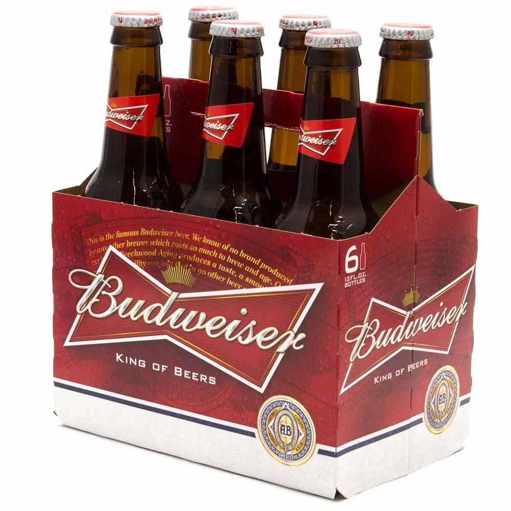 Budweiser 12oz 6Pk Btl