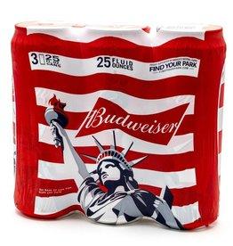 Budweiser 25oz 3Pk Cans
