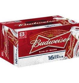 Budweiser 16oz 8Pk Cans