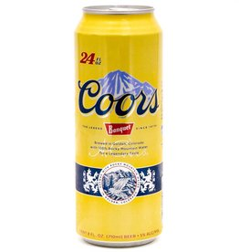 Coors Banquet 24oz Can (1)