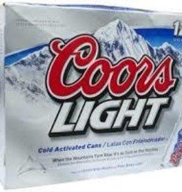 Coors Light 12oz 12Pk Cn