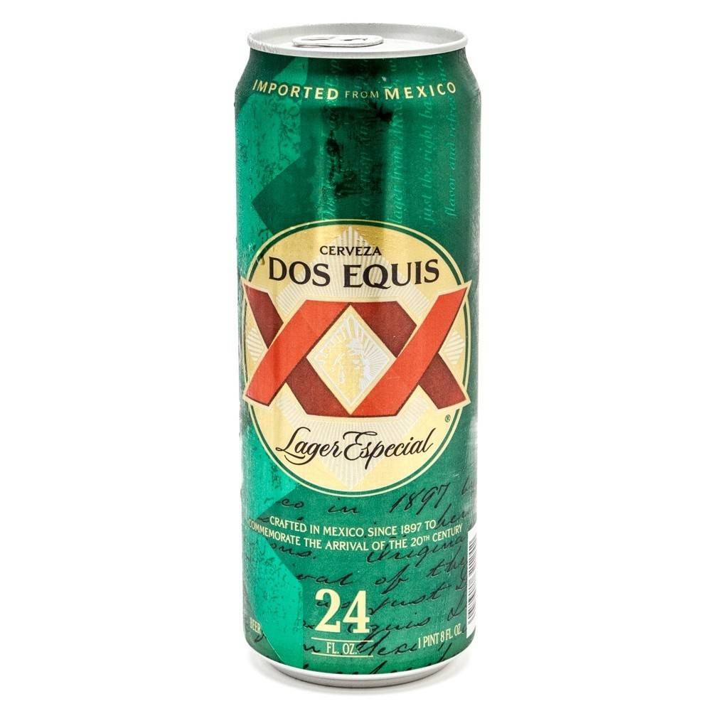 Dos Equis Lager 24oz (1)Can