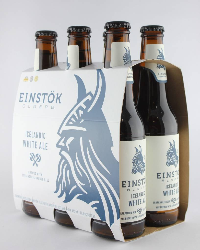 Einstok Olgerd Icelandic White Ale 12oz 6Pk Btl