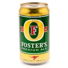 Fosters Premium Ale 750ml Cn