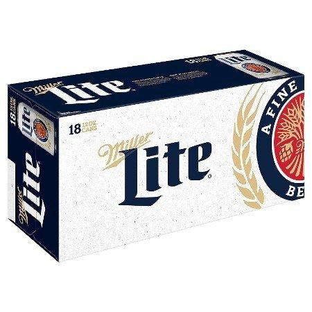 Miller Lite 12oz 18Pk Cn