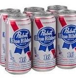 Pabst Blue Ribbon 16oz 6Pk Cans