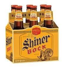 Shiner Bock 12oz 6Pk Btl