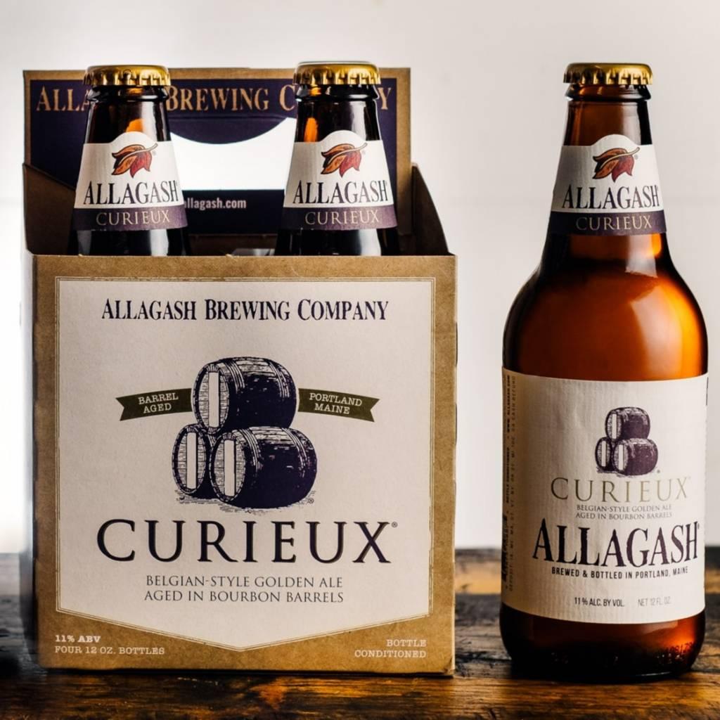 Allagash Curieux Belgian Golden Bourbon Barrel Aged 12oz 4Pk Btls