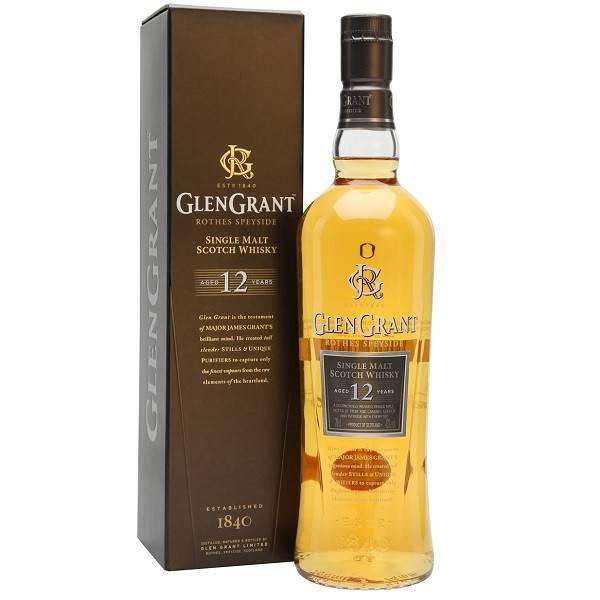 GlenGrant Rothes Speyside Single Malt Scotch Whisky 12Yrs. 750ml