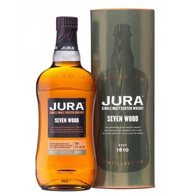 Jura Single Malt Scotch Whiskey 84Pf. Seven Wood 750ml