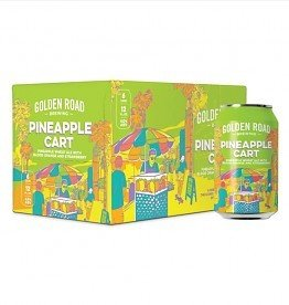 Golden Road Pineapple Cart 12oz 6Pk Cans