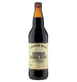 Anderson Valley Old Fashioned Malt Beverage Aged In Wild Turkey Bourbon Barrels 22oz Bomber