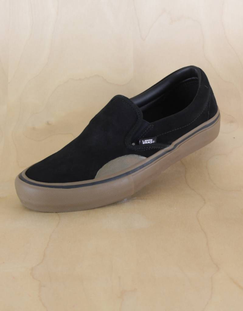 Vans - Slip-On Pro Black/Gum - The Point Skate Shop
