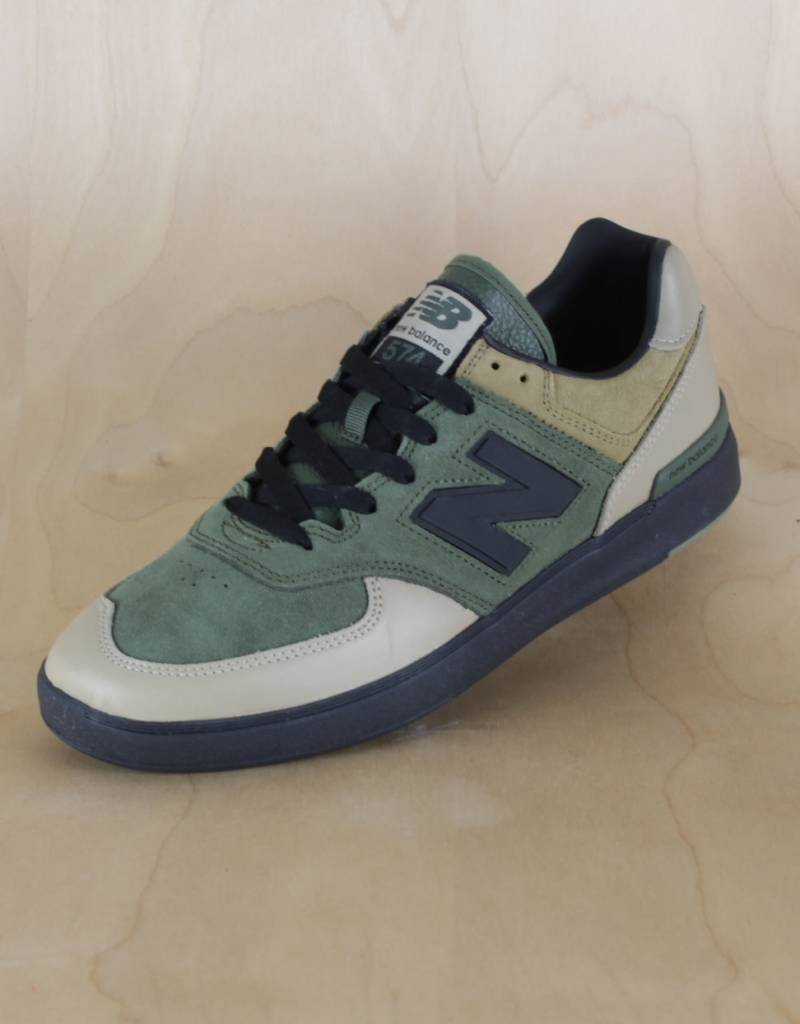 New Balance 574 GreenKhakiBlack