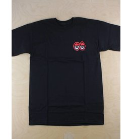 Krooked Krooked - Straight Eyes S/S Black/Red/White