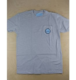 Roger Skate Co. Roger - Heather Grey Pocket Tee