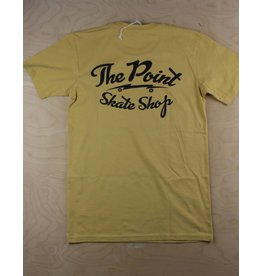 The Point The Point - Classic Logo Tee Mustard/Black
