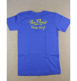 The Point The Point - Classic Logo Tee Royal/Yellow