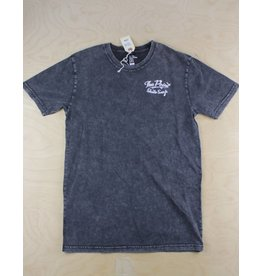 The Point The Point - Classic Logo Tee Stone Wash Black/White