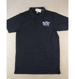 The Point The Point - Classic Logo Polo Tee Black/White