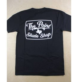 The Point The Point - Classic Logo Pocket Tee Black/White