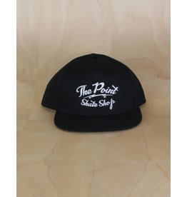 The Point The Point - Classic Logo Snapback Black/White