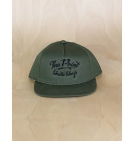 The Point The Point - Classic Logo Snapback Army Green/Black