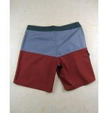 Brixton Brixton - Leeward Trunk Charcoal/Burgundy