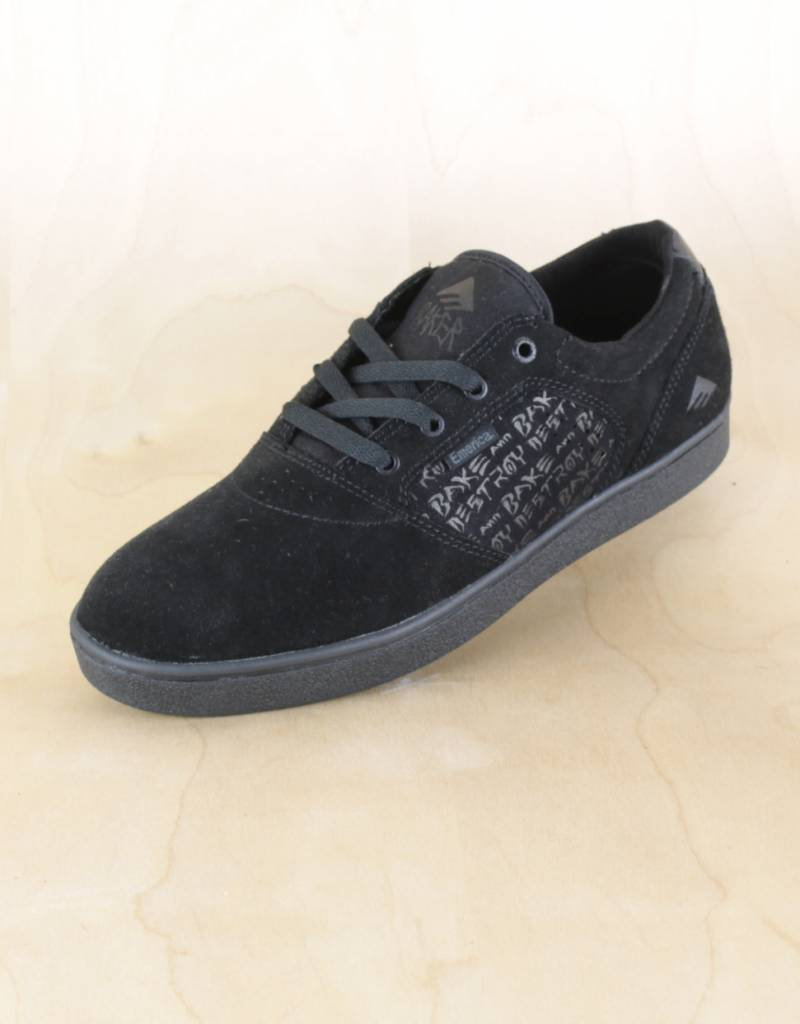14f974116594 Emerica - Figgy Dose X Baker Black Black - The Point Skate Shop