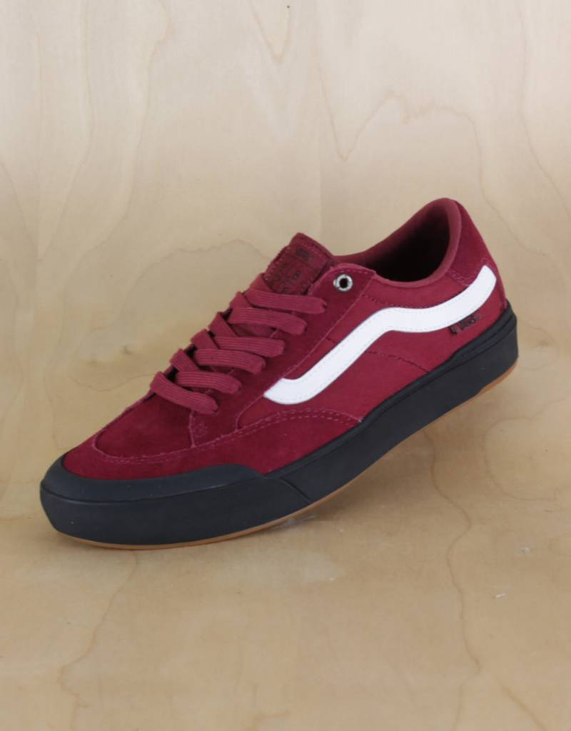 ef24d93a184a9f Vans - Berle Pro Rumba Red - The Point Skate Shop - The Point Skate Shop