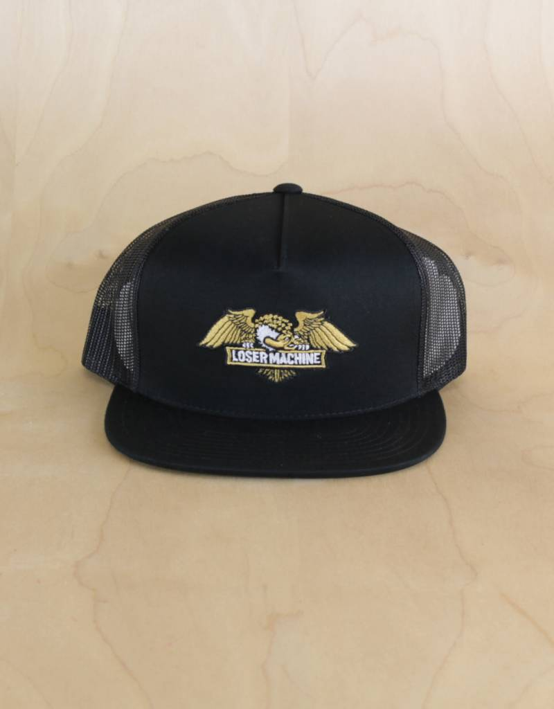 Loser Machine Loser Machine - Wings Trucker Black