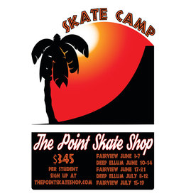 The Point Summer Skate Camp 1 Day